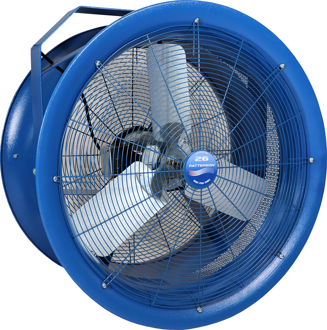 High Velocity Fans | Patterson Fan | Industrial & HVLS Fans - Patterson Fan  Co.