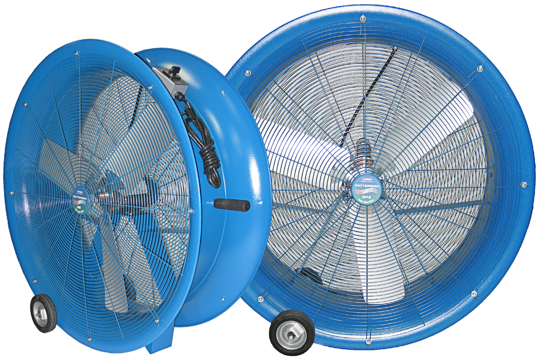 shop floor drum fans