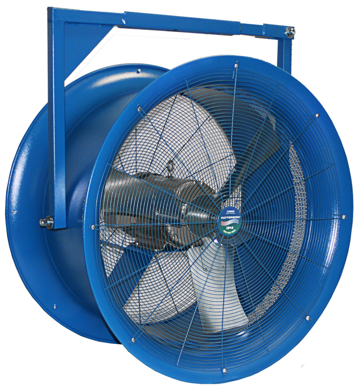 High Velocity Industrial Fans : Quot high velocity fans patterson industrial