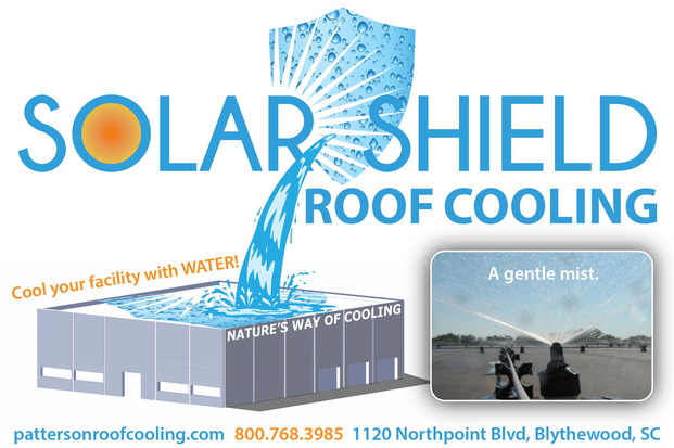 Solar Shield Roof Cooling