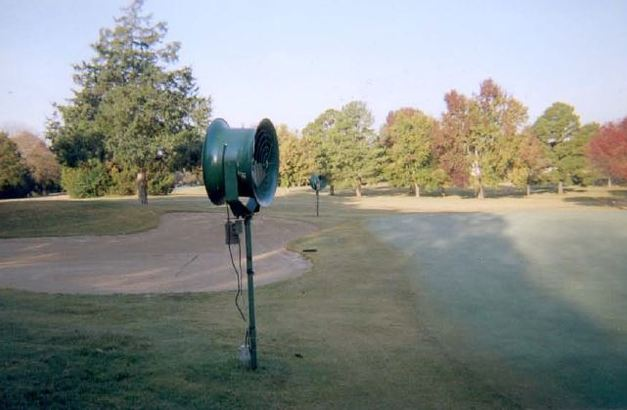 High Velocity Golf Course Fan