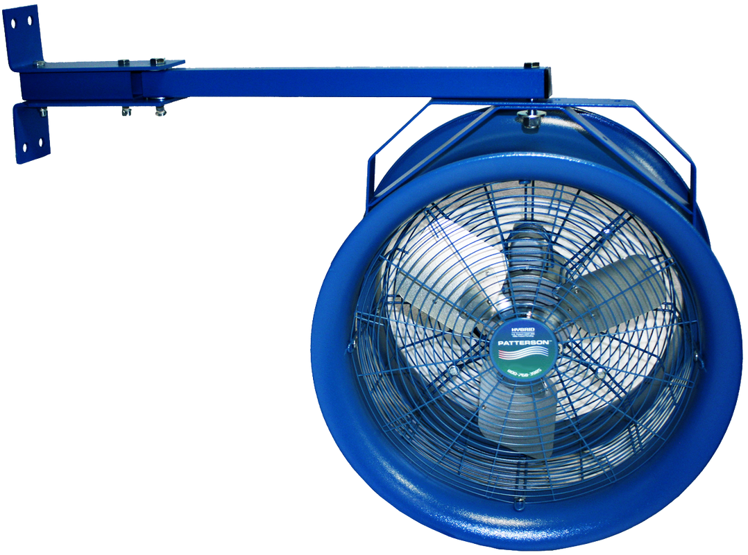 18 Quot High Velocity Industrial Fans Patterson Industrial