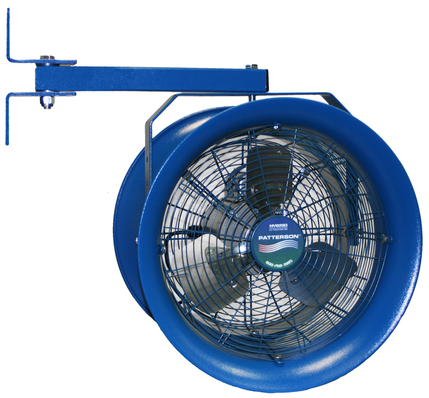 High Velocity Industrial Fans : Quot high velocity fan patterson industrial fans