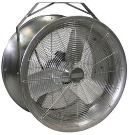 Stainless Steel High Velocity Fan