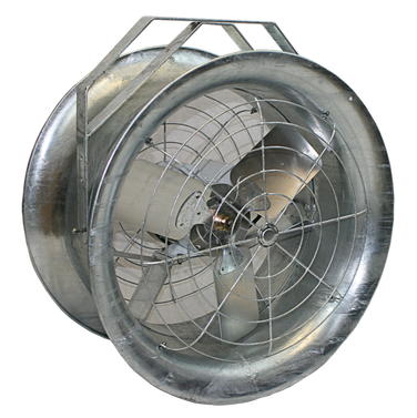 Galvanized High Velocity Fan