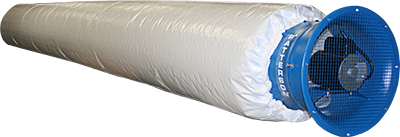 Power Tube Fabric Air Duct