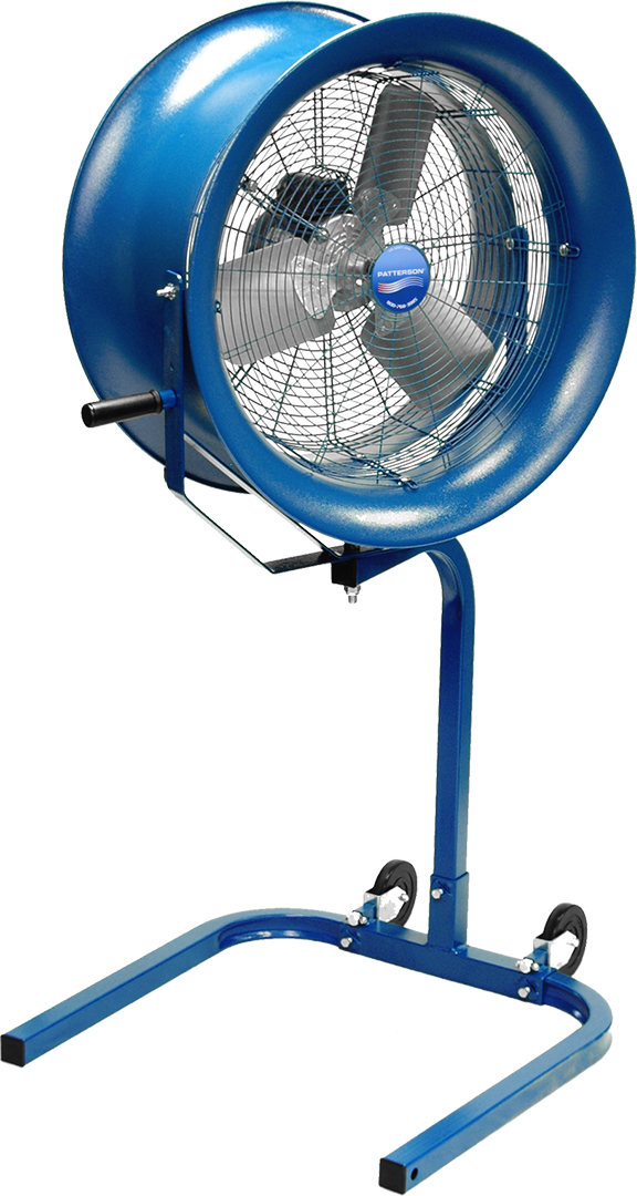 High-Velocity Fans | Industrial Fans & HVLS Fans | Healthy Air